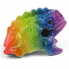 Rainbow Croaking Frog Güiro Instrument